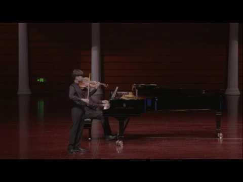 Shihan Wang | Schubert | Violin Sonatina No. 3 in G Minor | 1st Mvt | 2017 Zhuhai Violin Competition