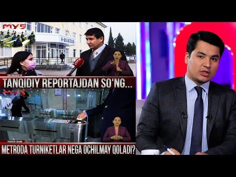 Markaziy Studiya 17.12.2020 -Tanqidiy Reportajdan So'ng Nima O'zgardi?