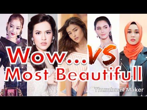 Most beautiful actress women in southeast asia // cewek tercantik di asia tenggara 2018