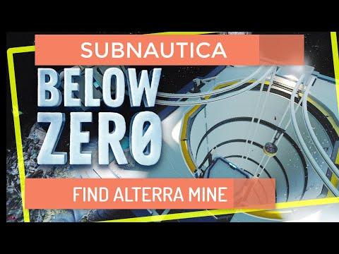 Subnautica Below Zero Mining Site | finding Undersea Mine Entrance 2020