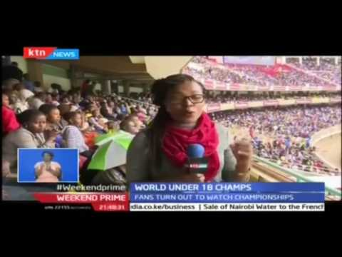 Over 35,000 fans turn up for the Under 18 World Athletics Championships