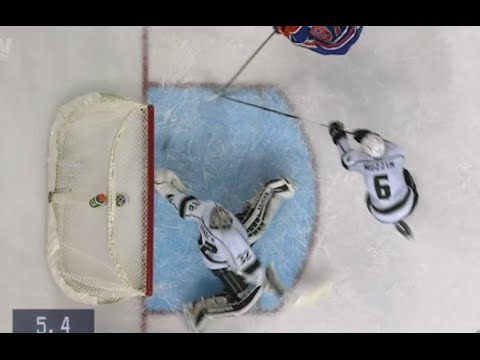 Jonathan Quick Save/No Goal call vs Edmonton - FULL REVIEW (10/25/15)