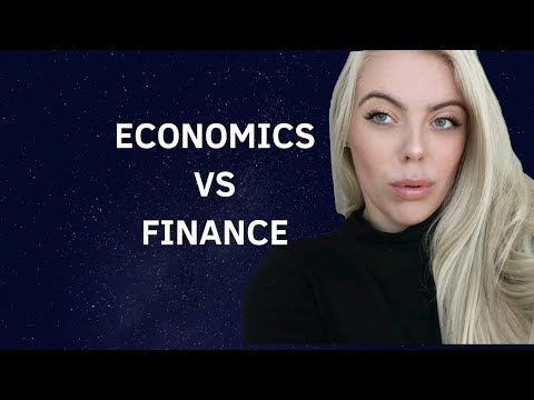 Economics vs Finance: Which is right for you?