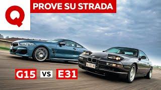 Nuova BMW Serie 8: meglio lei o quella vecchia (E31 vs G15)?