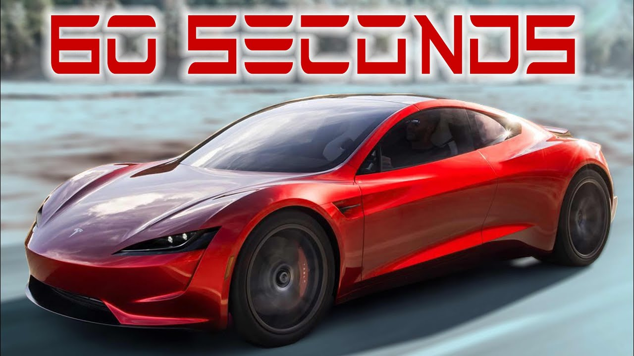 The New Tesla Roadster 2020 Highlights in 60 SECONDS! - YouTube