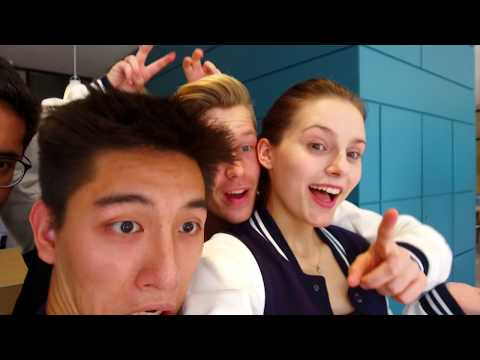 Selfie tour of the new campus | Frankfurt School