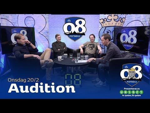 08 Fotboll: Audition