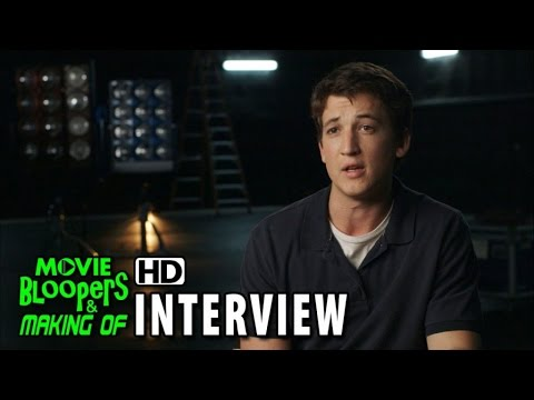 Fantastic Four (2015) BTScenes Movie Interview - Miles Teller is 'Reed Richards / Mr. Fantastic'