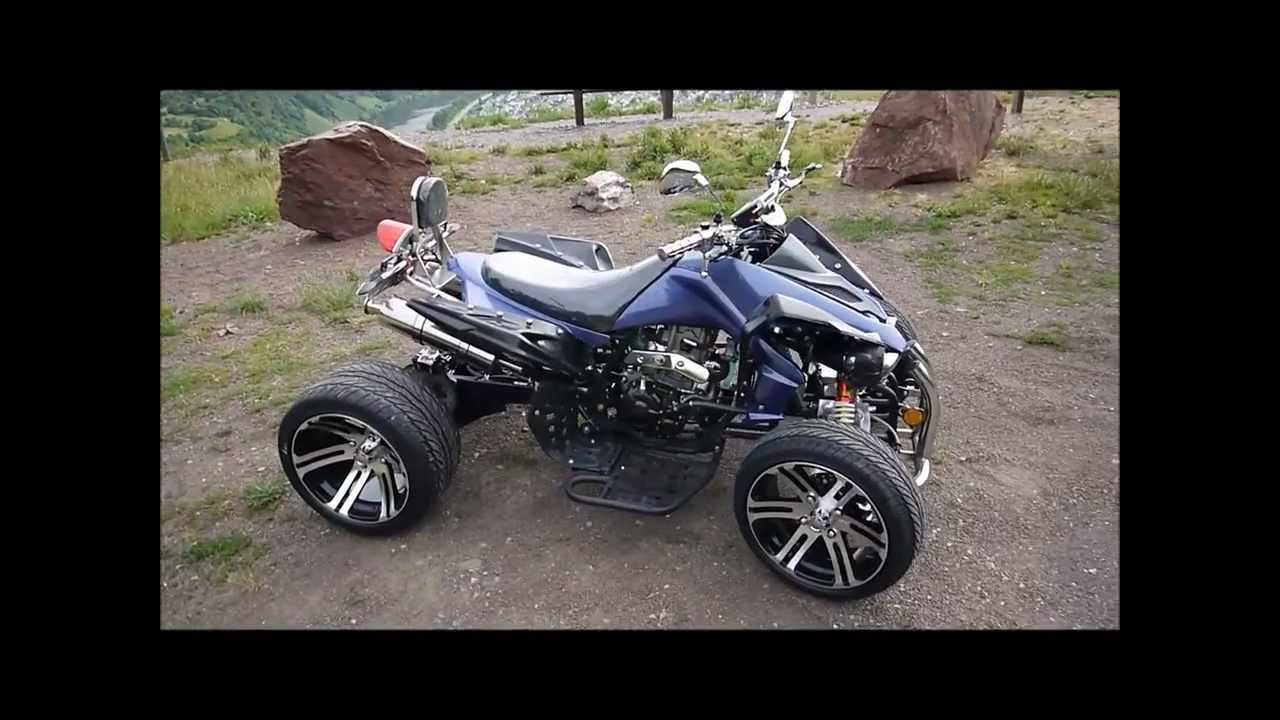 250ccm racing quad atv speedbird 14 zoll youtube. Black Bedroom Furniture Sets. Home Design Ideas