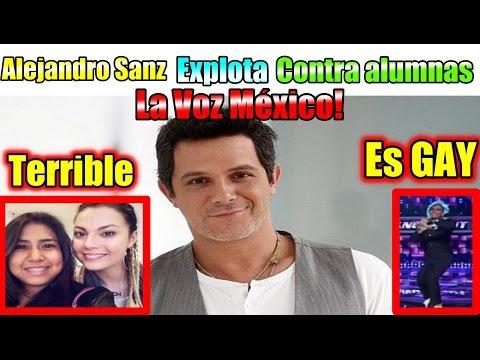 Alejandro Sanz ¡Regañó a sus alumnas en La Voz México!