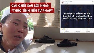 """Xôn xao vụ nhảy lầu ở tòa án Bình Phước sau status """"thức tỉnh nền tư pháp"""""""