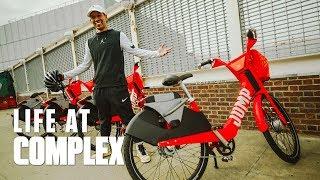 Speed Testing New Electric Bikes! | #LIFEATCOMPLEX