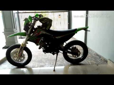 Honda cs1 modif supermoto