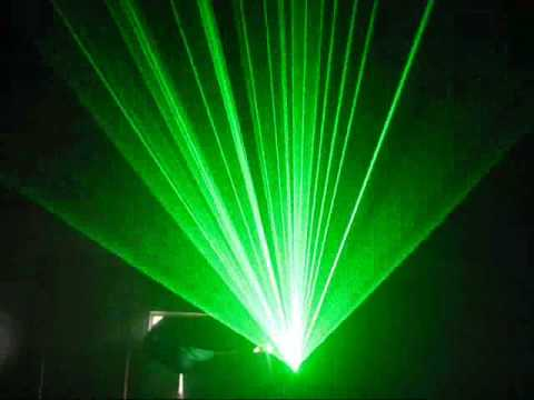 Show Must Lasershow with Pangolin FB3