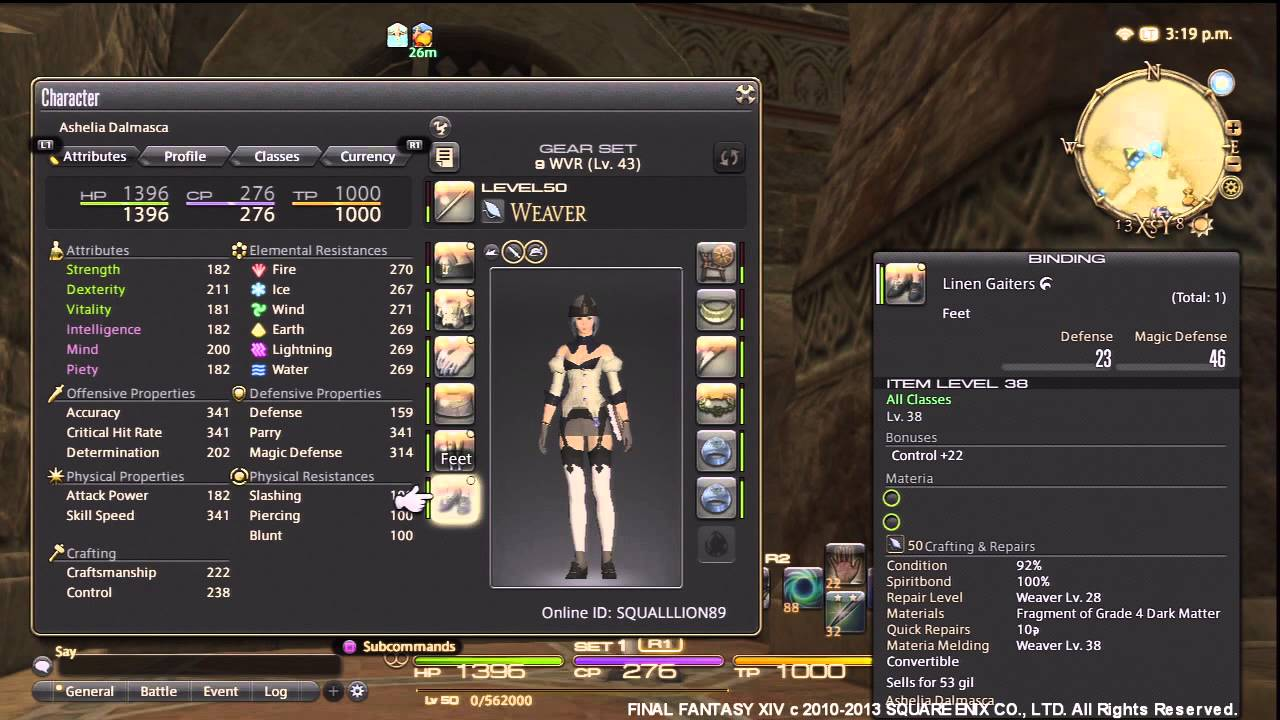 Ffxiv How Long To Level Crafting