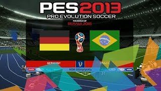 PES 2013 World Cup 2018 Official Scoreboard