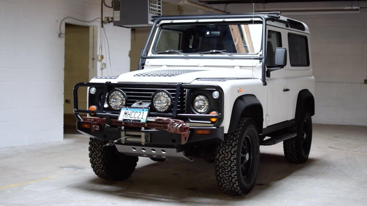 Worksheet. 1997 Land Rover Defender  Quick Look  Morries Heritage Car