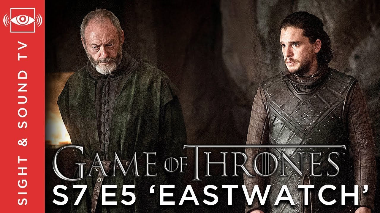 Game Of Thrones S7 E5 : game of thrones s7 e5 39 eastwatch 39 recap sight sound tv youtube ~ Medecine-chirurgie-esthetiques.com Avis de Voitures