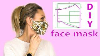 Как сделать маску Мастер класс как сшить маску для лица своими руками Ручная работа