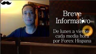 Breve Informativo - Noticias Forex del 3 de Noviembre del 2017