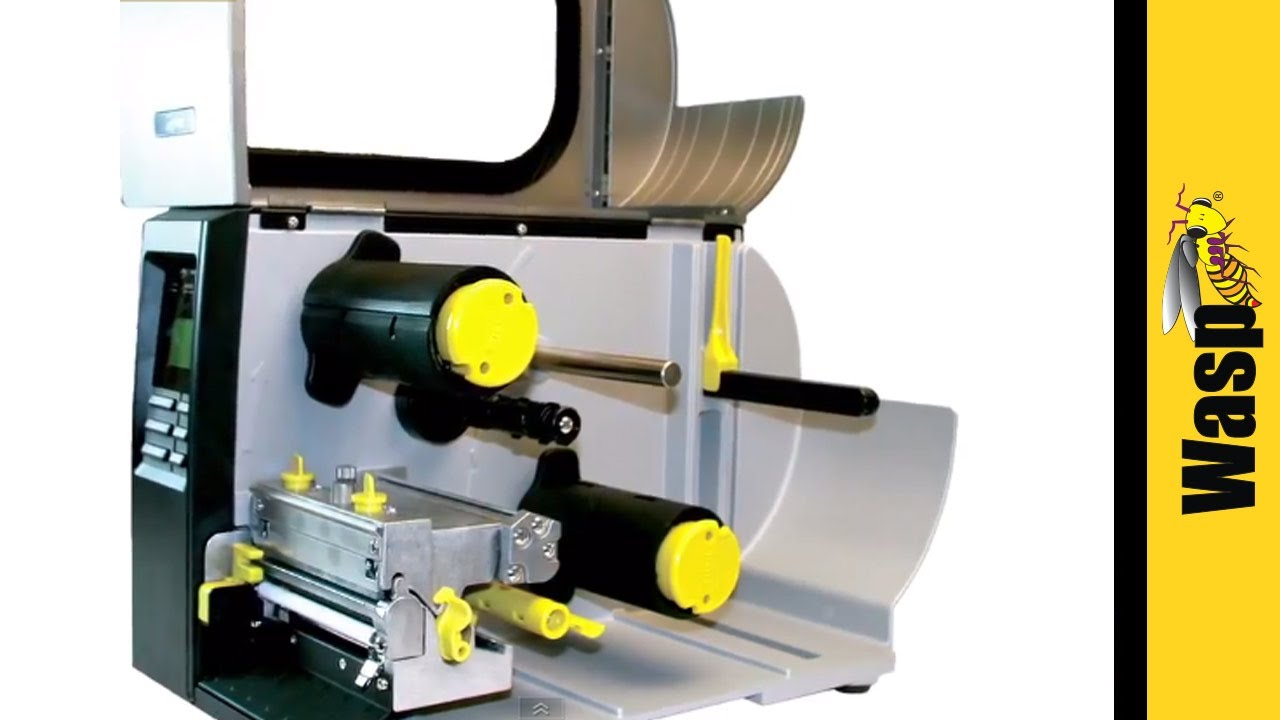 WPL610 BARCODE PRINTER - Industrial Barcode Printer from Wasp Barcode  Technologies