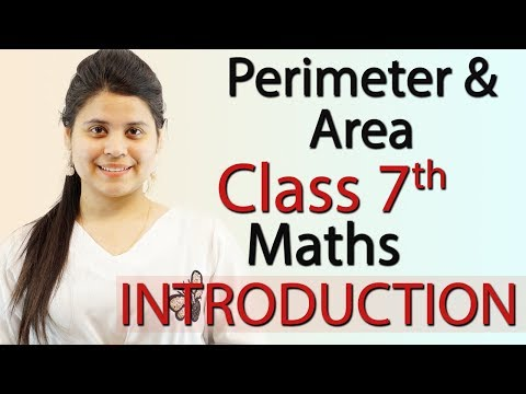 """Perimeter and Area"" Chapter 11 - Introduction - NCERT Class 7th Maths Solutions"