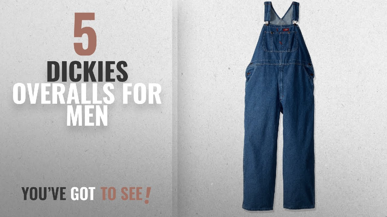 781fd16c4aa Top 10 Dickies Overalls  2018    Dickies Men s Denim Bib Overall ...
