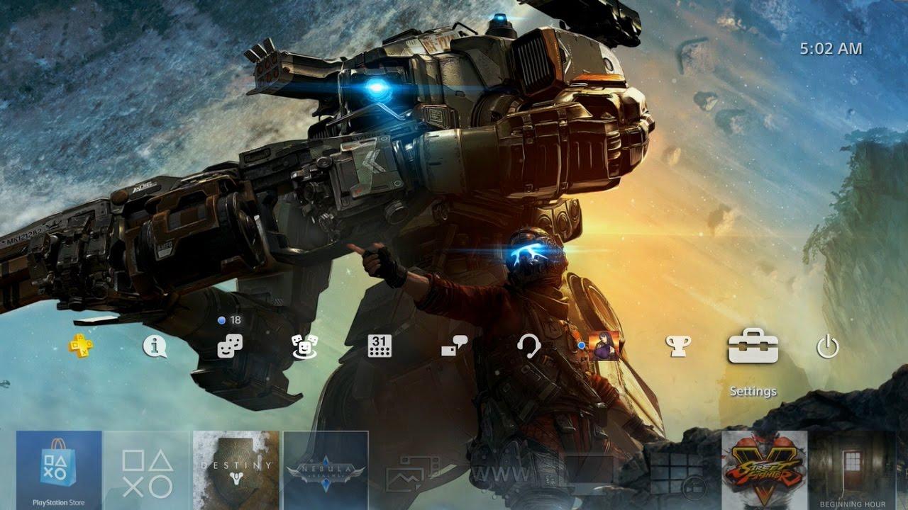 Titanfall 2 Animated Theme PS4