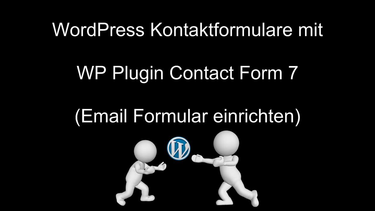 10. Contact Form 10 - E-Mail einrichten