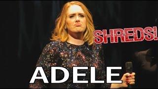 Adele - Send My Love - SHREDS!