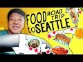 Moving to Seattle! FOOD ROAD TRIP!