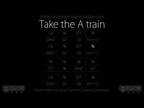 Take the A train (130 bpm) : Backing track