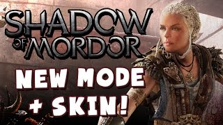 Shadow Of Mordor: New Skin + Game Mode!