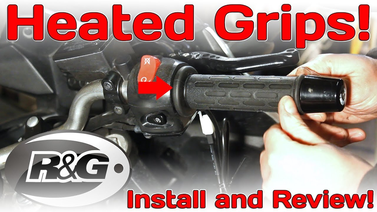 Rg Heated Motorcycle Grips Install And Review Youtube