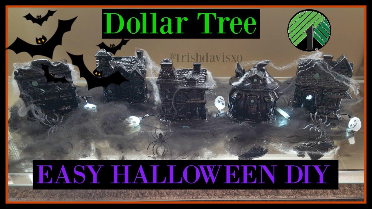 dollar tree diy halloween haunted houses home decor youtube. Black Bedroom Furniture Sets. Home Design Ideas