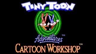 Tiny Toon Adventures: Cartoon Workshop - NES Gameplay