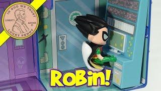 Teen Titans Go! T Tower Play Set - Robin, Raven, Cyborg & The Gang