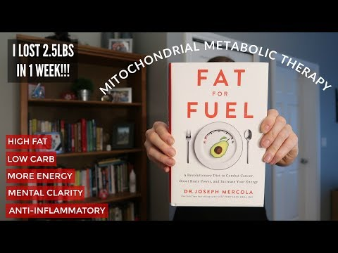 FAT FOR FUEL by Dr Mercola | MMT Diet Review | Ketogenic, mental health, anti inflammatory & energy!
