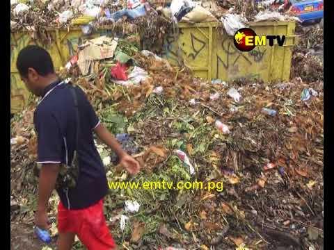 Garbage at Malaoro Market an Eyesore and Health Hazard
