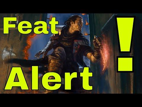 D&D (5e): Alert Feat