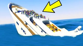 CAN YOU SINK THE YACHT IN GTA 5?