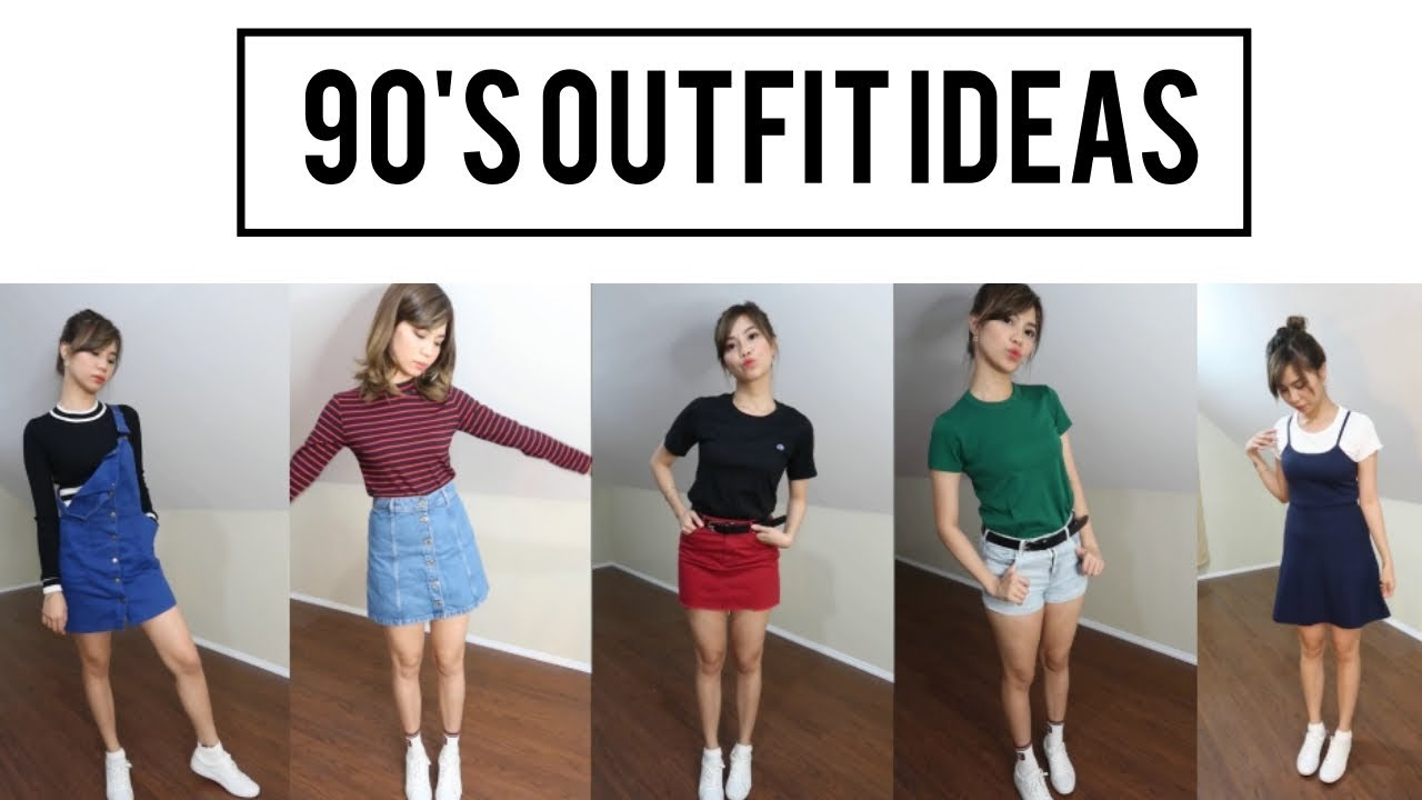 [VIDEO] - 90's Outfit Ideas (Philippines) | Divine B. 6