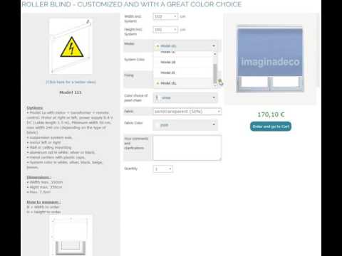 imaginadeco   how to select model and specifications of customized blinds and curtains