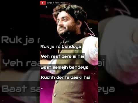 Bandeya Rey Bandeya || Whatsapp Status || Arijit Singh New Song || Simba