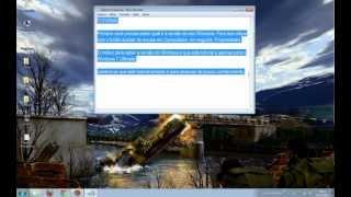 Como deixar a Barra de Tarefas Transparente no Windows 7 Ultimate - Taskbar Transparent
