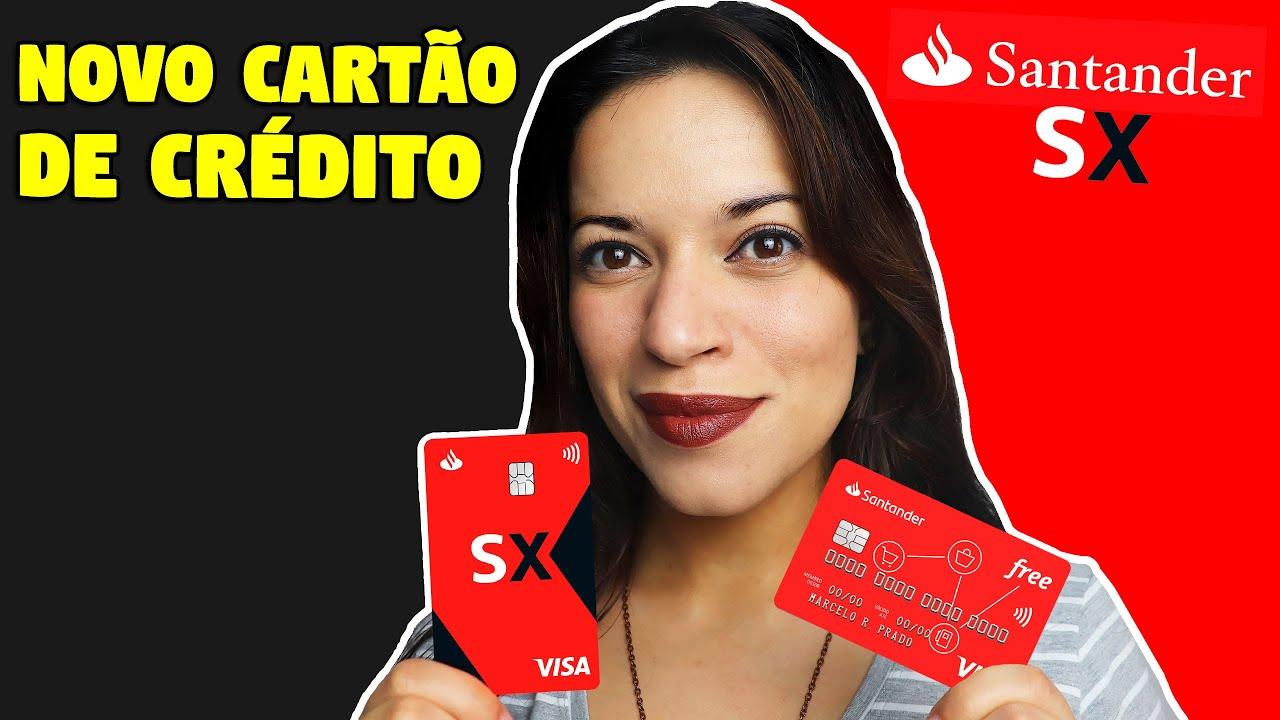 Download CARTÃO DE CRÉDITO Santander SX é bom? COMO CONSEGUIR e COMO FICA o antigo Santander Free?