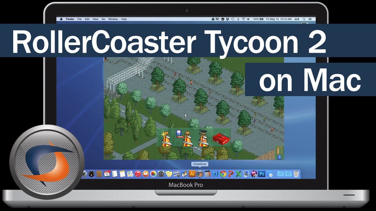 Playing Roller Coaster Tycoon 2 natively on macOS El Capitan with