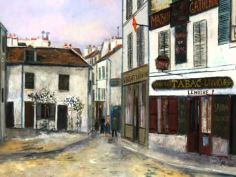 French Painter Maurice Utrillo