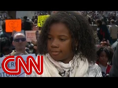 MLK Jr.'s granddaughter: No guns in this world