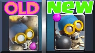 Clash Royale: Old and Removed Card Changes